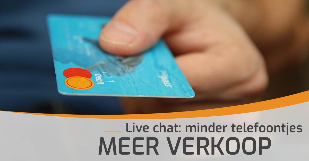 Live Chat Verkoop
