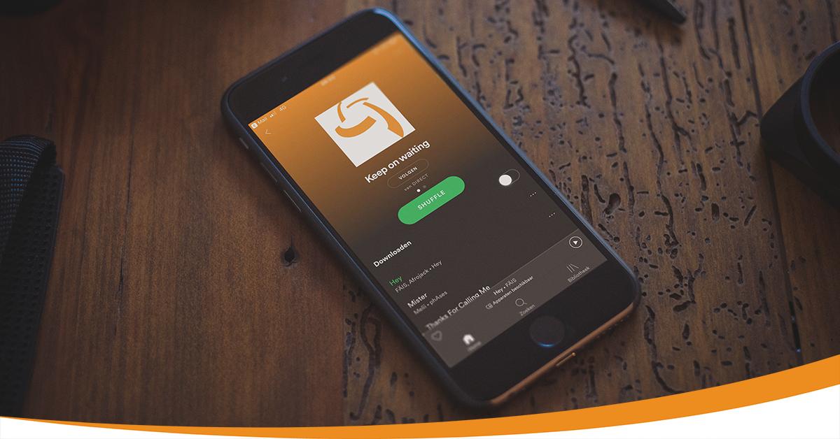 DIRECT Klantcontact Presenteert Spotify Playlist Voor Ondernemers Die Klanten In De Wacht Laten Staan