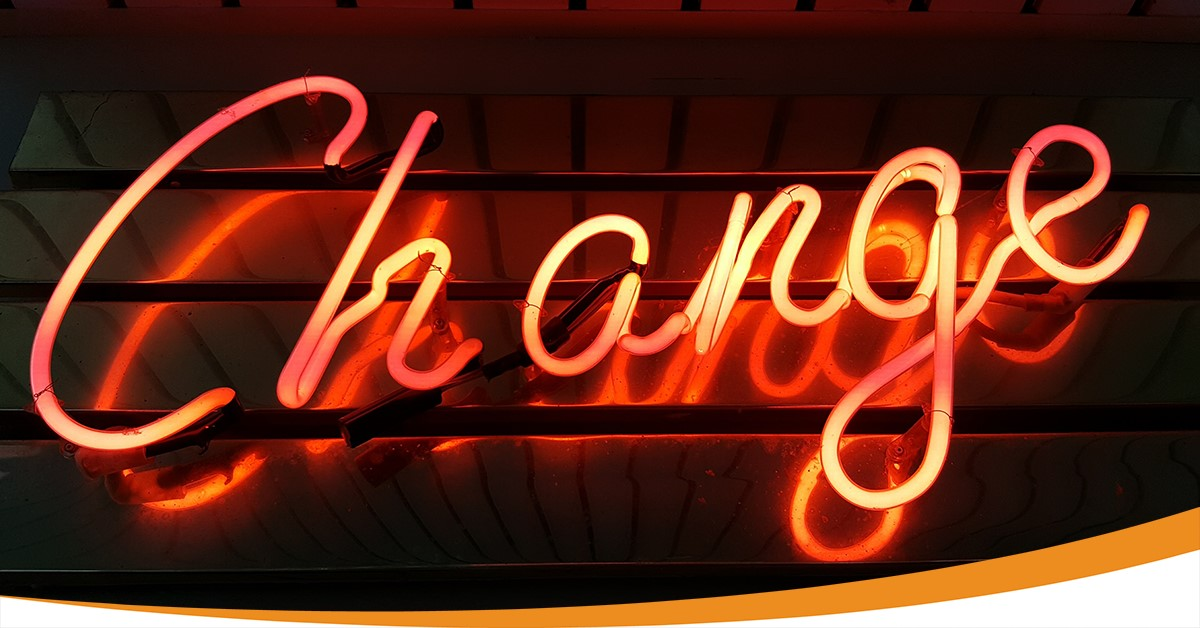 blog change